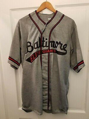 f99ef1028 Cesar Izturis Game Used 1948 Baltimore Elite Giants Replica Uniform Jersey  LOA