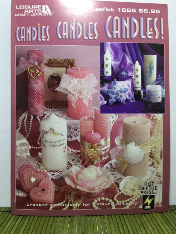 Leisure Afts Leaftlet 1665 Candles Candles Candles Candlemaking