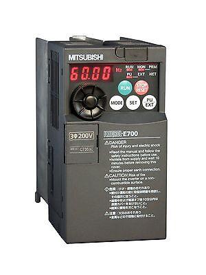 1hp 460v 3-phase Mitsubishi E700 Vfd Inverter Fr-e740-026sc-na Fre740026scna
