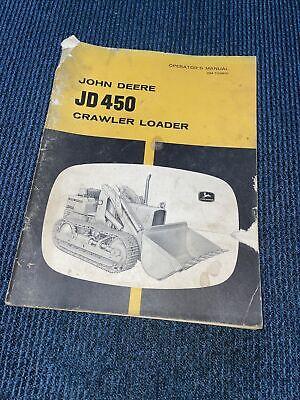 John Deere Jd450 Crawler Loader Operators Manual 2 S12