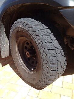 Tyres 285 x 75 x 16 set of four Burns Beach Joondalup Area Preview