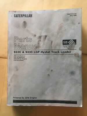 Caterpillar 933c 933c Lgp Hystat Track Loader Parts Manual 4ms1 5js1 Book