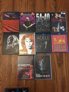 Assortment of Concert  DVDs in excellent condition