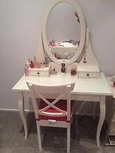 Make up and Jewellery table Belrose Warringah Area Preview