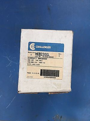 Challenger Hcb2200 Circuit Breaker 200a 240v Chh Tmqd Equal Nib