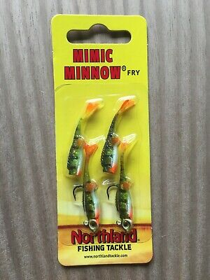 Northland Tackle Mimic Minnow Critter Craw 1//16 oz natural craw NIP