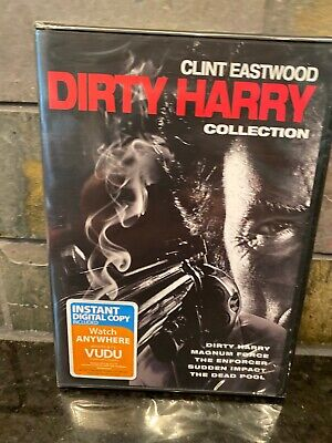 Clint Eastwood 5 FILM COLLECTION DIRTY HARRY DVD NEW *No Digital*