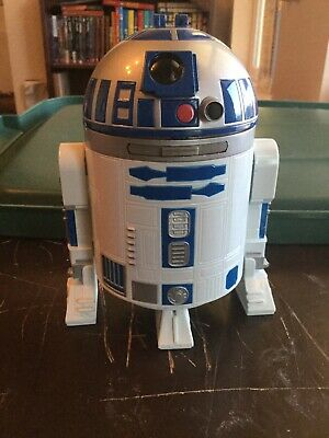 Used, star wars micro collection R2-d2 / Jabba The Hutt Throne By Galoob 1994 for sale  Browns Valley