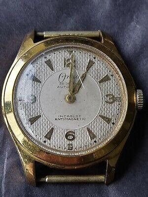 Vintage Onsa Automatic 25 Jewels Incabloc Gents Watch