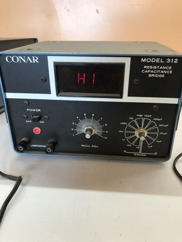 Conar Model 312 Resistance Capacitance Bridge Vintage Radio Ham