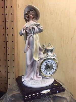 VINTAGE RARE FLORENCE CERAMICS FRENCH ELECTRIC CLOCK-BRAND NEW! MODEL 9648