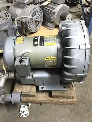 Gast Regenair Regenerative Blower 5 Hp 3450 Rpm 208-230460v