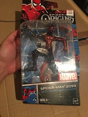 Hasbro Marvel Spider-Man Origins SPIDER-MAN 2099 with Removable Cape 2006 NIB