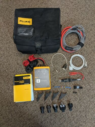 Fluke 1744 Power Quality Logger Memobox, Excellent Condition