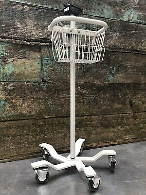 Welch Allyn 420 Spot Lxi 300 Series Patient Monitor Mobile Stand 53nt0 53ntp