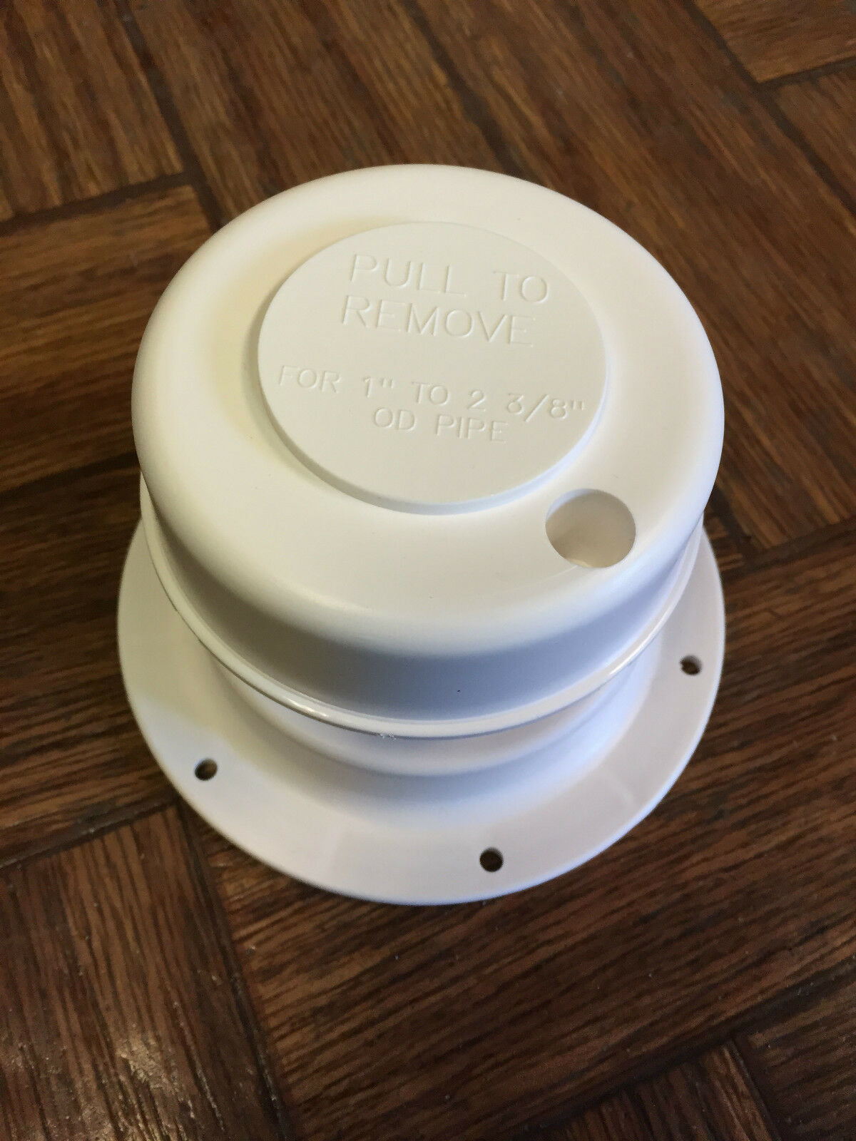 Rv Camper Motorhome Plumbing Sewer Bathroom Vent Roof Cap White Removable Top Ebay