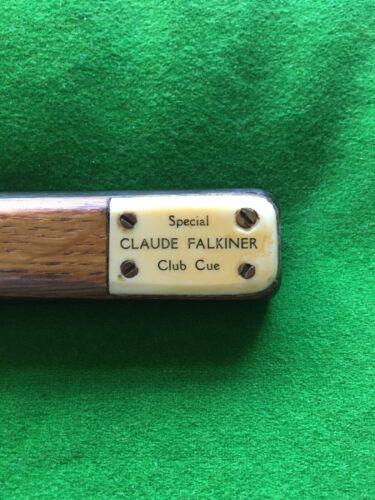 Vintage Snooker Cue Claude Falkiner Special