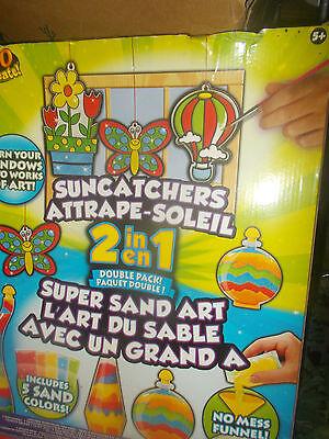 Sand Art Kit (Horizon Suncatchers 2 in 1 Super Sand Art Kit NIB)