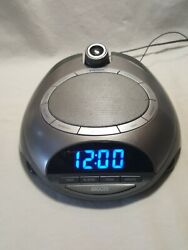HoMedics SoundSpa Time Projecting Natural Sounds Clock Radio - SS-4500