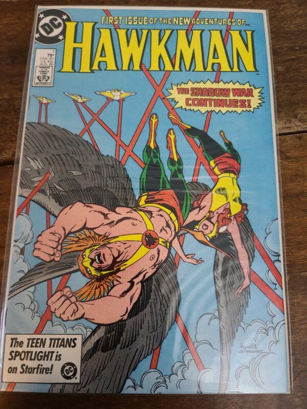 Hawkman #1 (Aug 1986, DC)