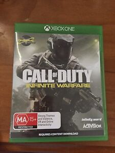 Xbox one Call of Duty Infinite Warfare Warners Bay Lake Macquarie Area Preview