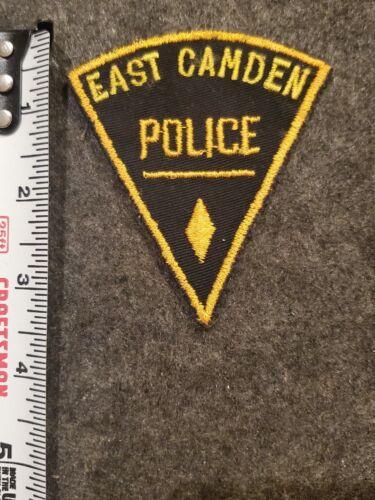 Defunct East Camden Police Diamond Shape - Arkansas Cheesecloth 1 of 4