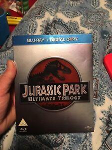 Jurassic Park Ultimate trilogy blu ray (region free)
