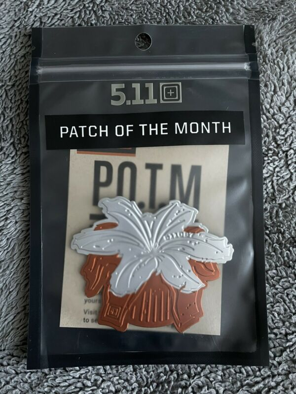 NEW 5.11 Tactical March 2021 Flower Power POTM Patch Of the Month 511097 81985