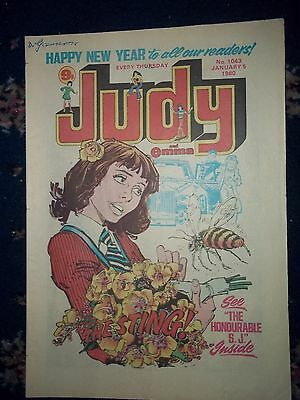 JUDY COMIC #1043 [5TH JAN -1980]   'MAGIC OF MARGOT FONTEYN' NEW YEAR ISSUE
