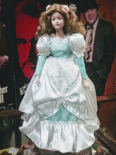 "1991 18"" porcelain doll"