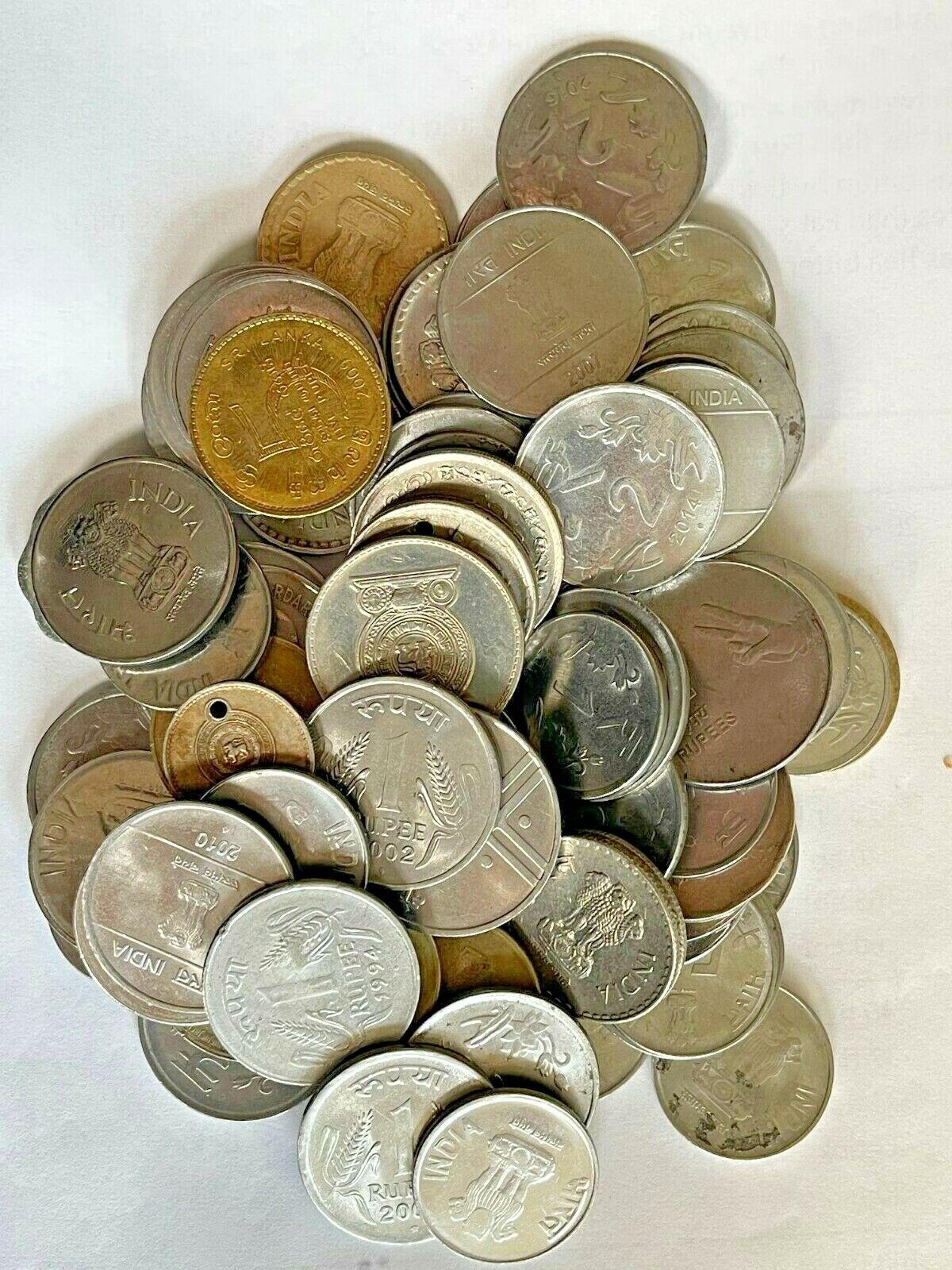 1 Lb Coin Lot INDIA - $19.95