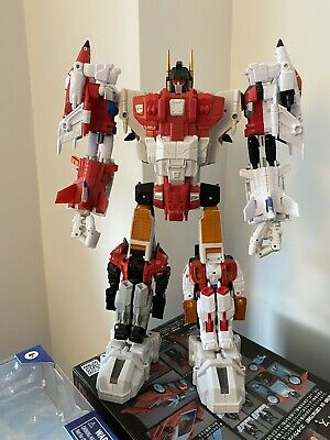 Mint Combiner Wars Superion Transformers Aerialbots Upgrades Quickslinger