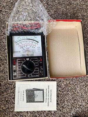 Vintage Micronta 27-range 30000 Ohms-volt Dc Multitester 22-203 A C10