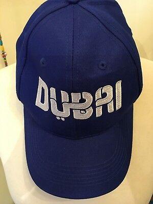 DUBAI GODOLPHIN BLUE HORSE RACING BASEBALL CAP