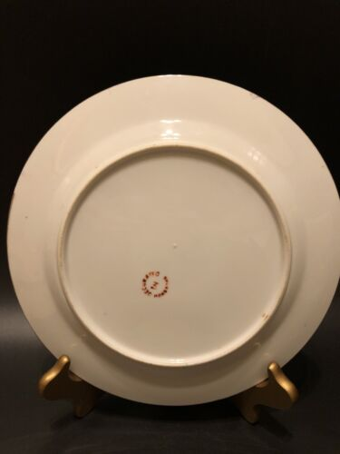 Antique Famille Rose Medallion Plate,Beautifully Hand Painted - $89.00
