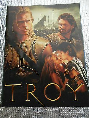 Troy Movie Program Japan 2004 USED Brad Pitt Eric Bana Orlando Bloom