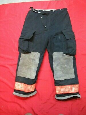 36 X 28 1990s Globe Firefighter Fire Pants Bunker Turnout Gear Vtg