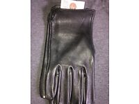 BN Geier Handmade USA Top Grain Cowhide Leather Driving Work Elastic Cuff Size 9