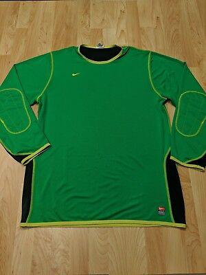 16942c92e Nike men s Goalie Jersey Soccer Long sleeve SHIRT Size XL GUC