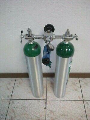 Oxygen Tank Yoke Block - Double Tank