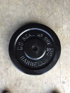 50lb steel weight plate