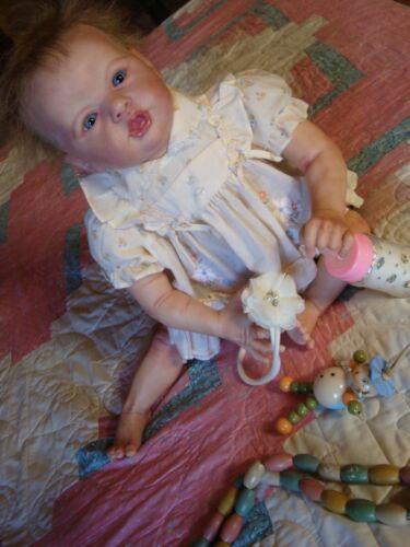 Large reborn doll Gertie/Laura Eagles/COA