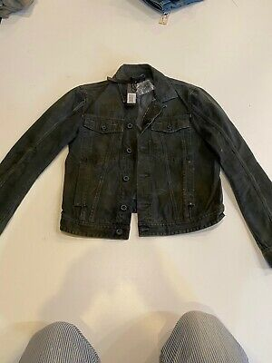 NWT $550 Diesel Black Gold Mens Jenry Giacca Size M made in