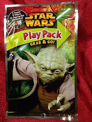 Yoda Coloring Pages (Star Wars Yoda Grab & Go! 24 Page Coloring Book Crayons Stickers)