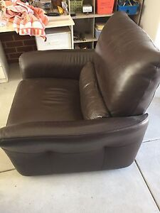 Leather electric recliner chair Woodlands Stirling Area Preview