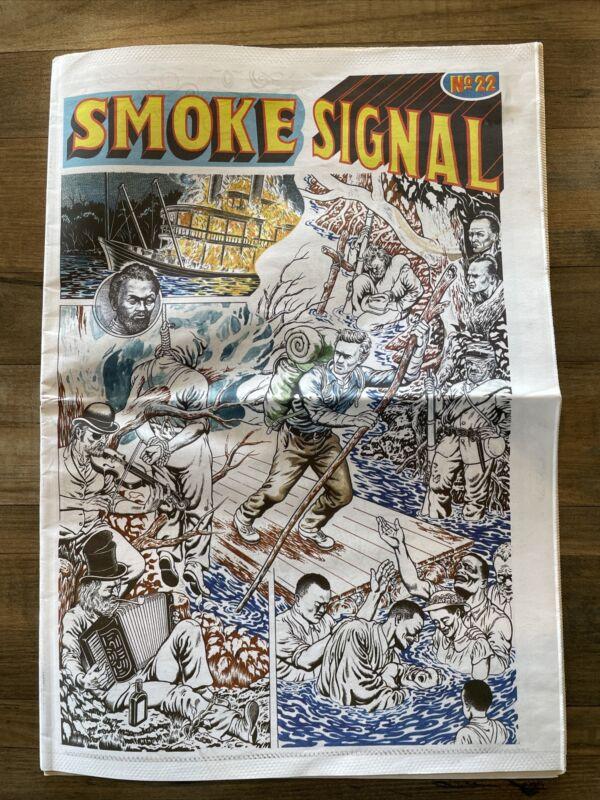 Smoke Signal 22 Tim Lane Gabe Fowler Desert Island Brooklyn Comic Paper cartoons