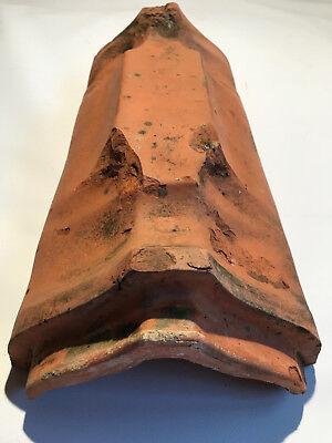 Historische Dachziegel, Firstziegel Ludowici-Jockgrim W1