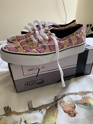 Vans Nintendo Size 4 Princess Peach