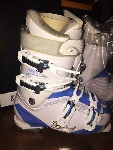 Ski boots adapt edge 90 MYA HF white-ice