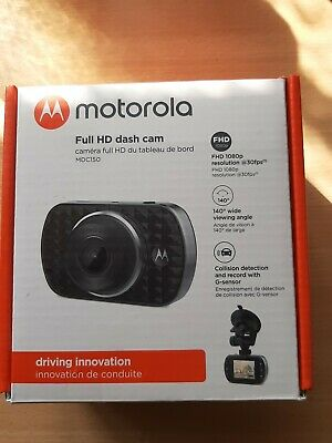 Motorola Dash cam Fhd 180p With 2 Inch Lcd Display 140° Wide Angle Viewing....